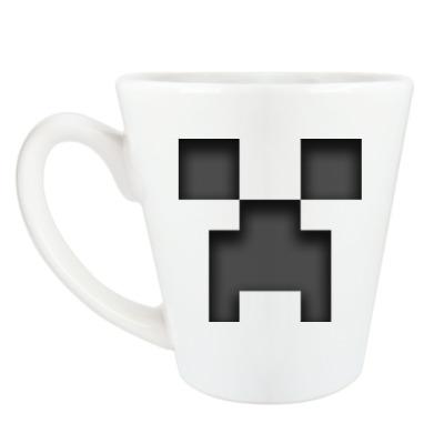 Чашка Латте Minecraft Creeper