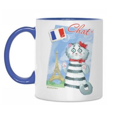 Кружка Кот из Парижа