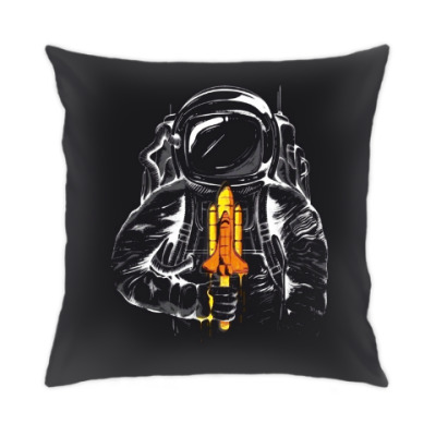 Подушка Космонавт с леденцом