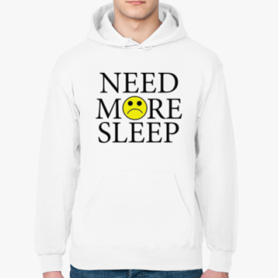 Толстовка худи Need more sleep