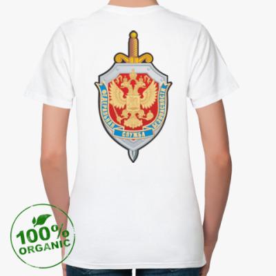 Женская футболка из органик-хлопка ФСБ России