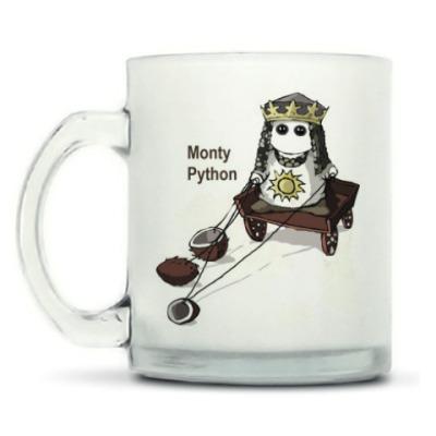 Кружка матовая Monty Python