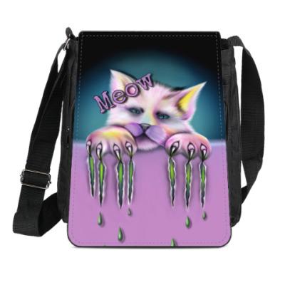 Сумка-планшет Sad cat
