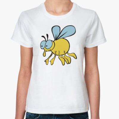 Классическая футболка Паучок и мушка