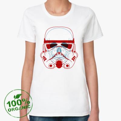Женская футболка из органик-хлопка Imperial Stormtrooper