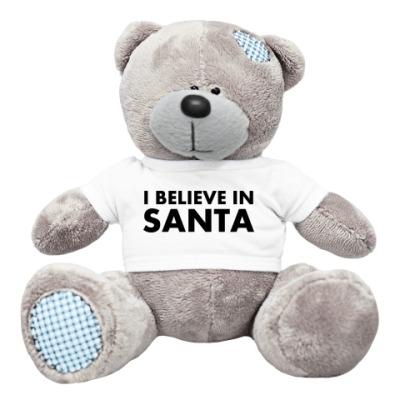 Плюшевый мишка Тедди I believe in Santa