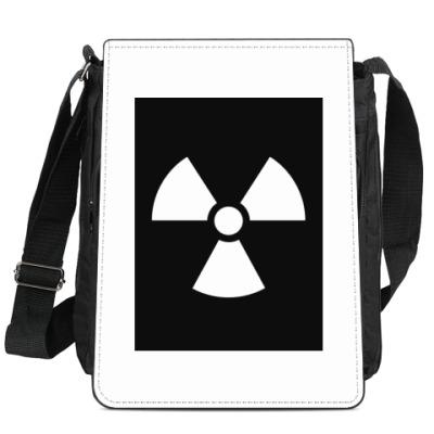 Сумка-планшет Знак Радиации
