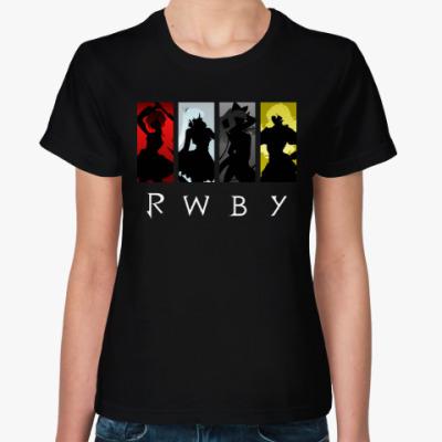 Женская футболка RWBY