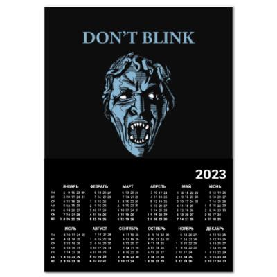 Календарь Don't Blink