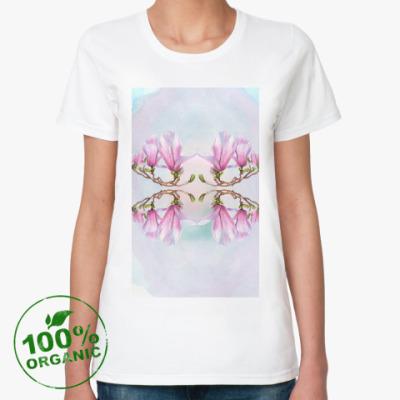 Женская футболка из органик-хлопка Магнолия