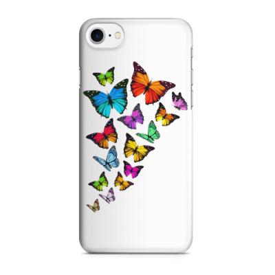 Чехол для iPhone 7/8 Бабочки