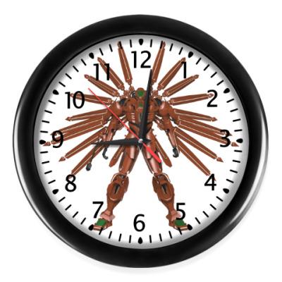 Настенные часы Робот