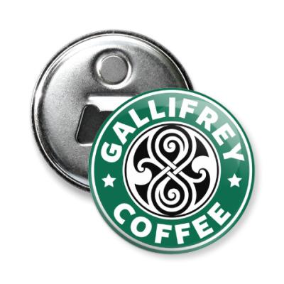 Магнит-открывашка Gallifrey Coffe