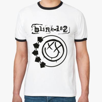 Футболка Ringer-T Blink 182