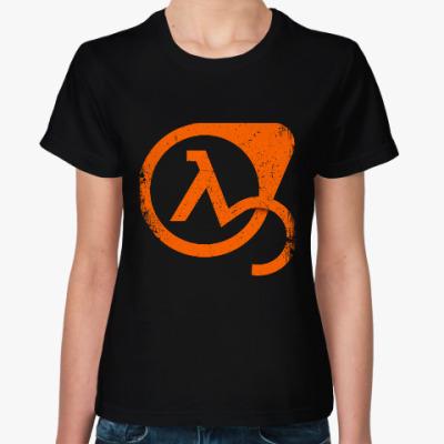 Женская футболка Half-Life 3