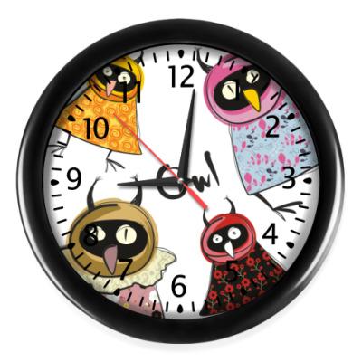 Настенные часы Совы