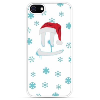Чехол для iPhone Светлая Новогодняя улыбка