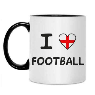 Кружка Я люблю английский футбол