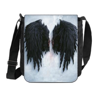 Сумка на плечо (мини-планшет) 'Крылья'