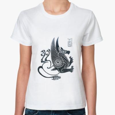 Классическая футболка Скифский грифон