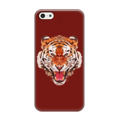 Чехол для iPhone 5/5s Тигр
