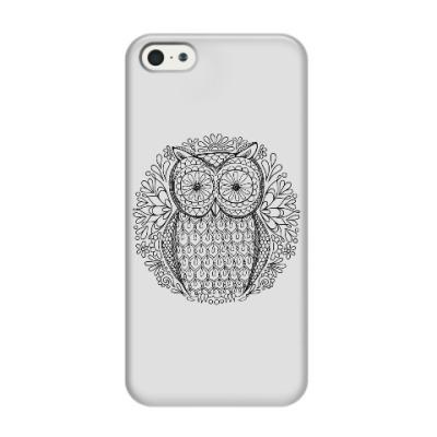 Чехол для iPhone 5/5s Сова