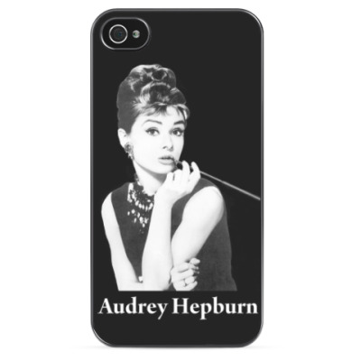 Чехол для iPhone  Audrey Hepburn