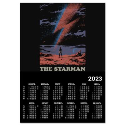 Календарь David Bowie Starman Дэвид Боуи