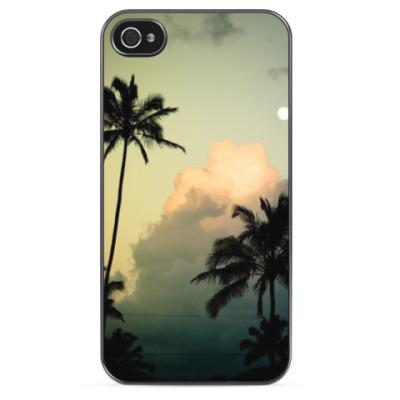 Чехол для iPhone Закат над океаном