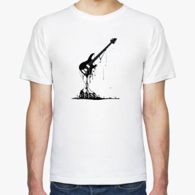 Футболка Бас гитара (чёрная)