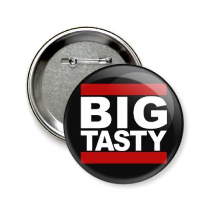 Значок 58мм Big Tasty