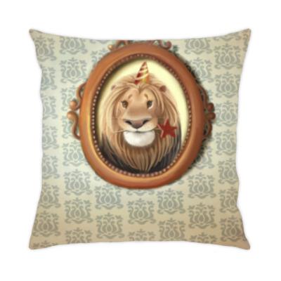 Подушка С Днём рождения, Лев!