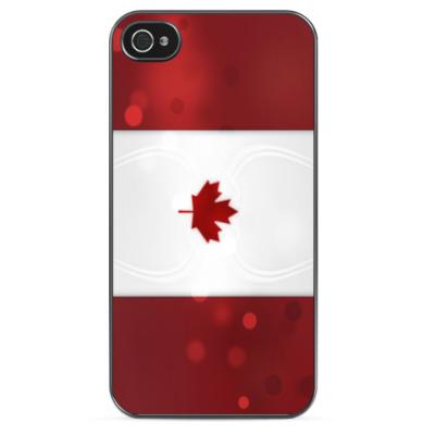 Чехол для iPhone Флаг Канады