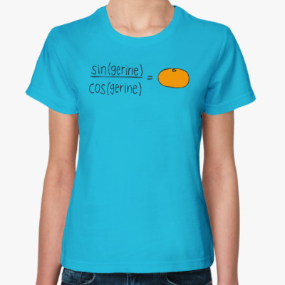 Женская футболка Tangerine