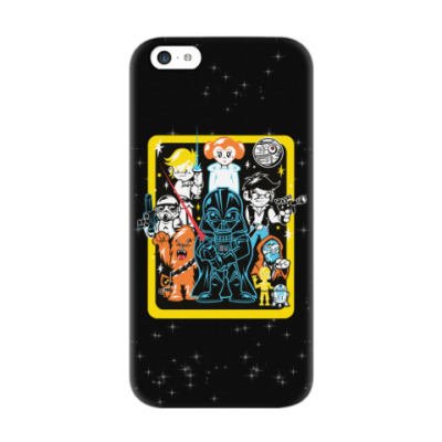 Чехол для iPhone 5c Star Wars