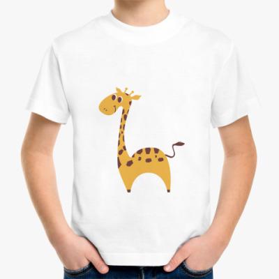 Детская футболка Baby giraffe