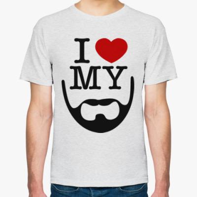 Футболка I love my beard