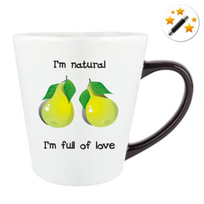 I'm natural, I'm full of love