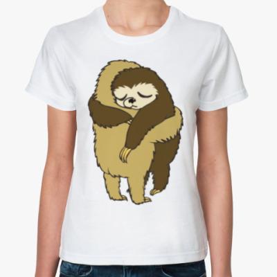 Классическая футболка Обнимашки