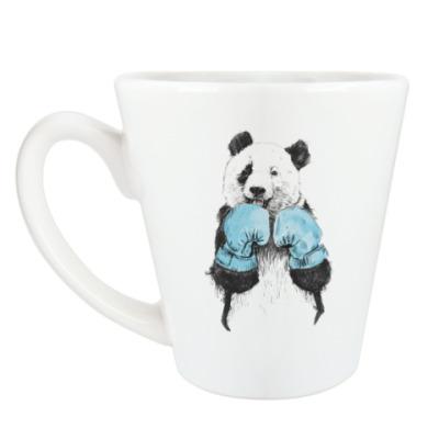 Чашка Латте Панда боксер