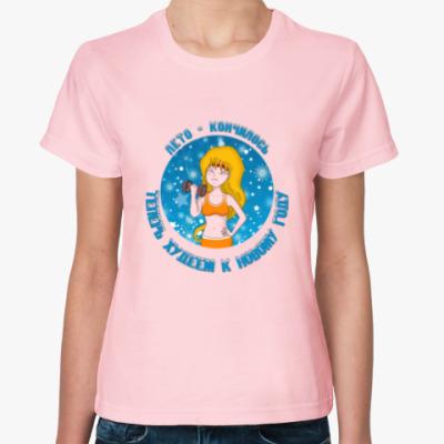 Женская футболка Мила фитнес
