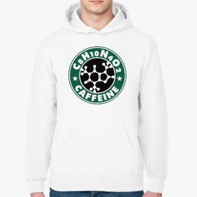 Толстовка худи Кофеин