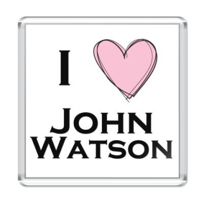 Магнит I <3 John Watson