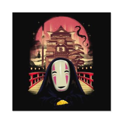 Наклейка (стикер) Унесенные призраками Миядзаки