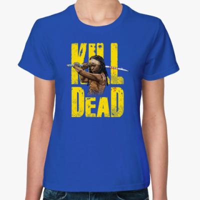 Женская футболка Walking Dead Ходячие мертвецы