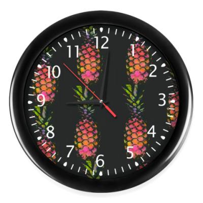 Настенные часы Ананас