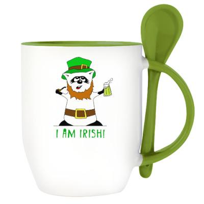 Енот 'I am Irish!'