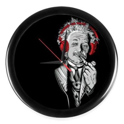 Настенные часы Albert Einstein relaxed