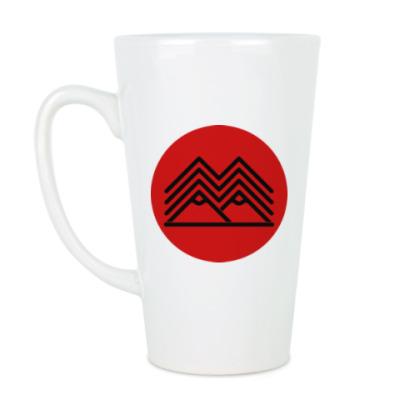 Чашка Латте Символ Твин Пикс Twin Peaks