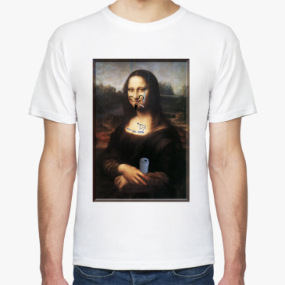 Футболка Мона Лиза